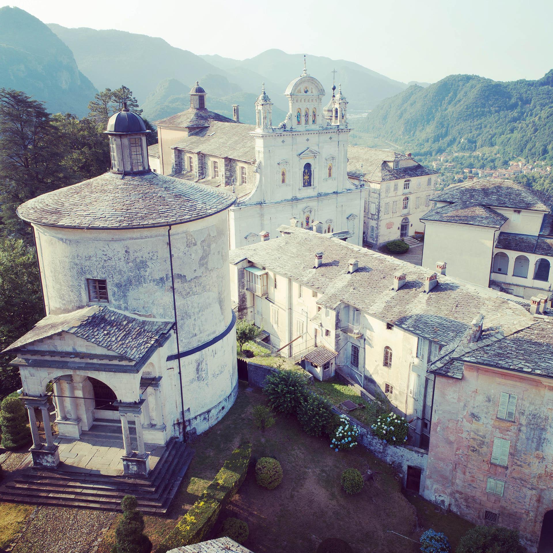 Scorcio del Sacro Monte di Varallo, Valle Sesia