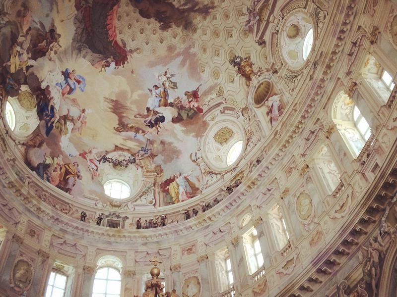 Santuario di Vicoforte, Cuneo, la cupola ellittica più alta del mondo.